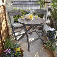 Набор садовой мебели Jazz Set Cappuccino ( капучино ) из искусственного ротанга, фото 1