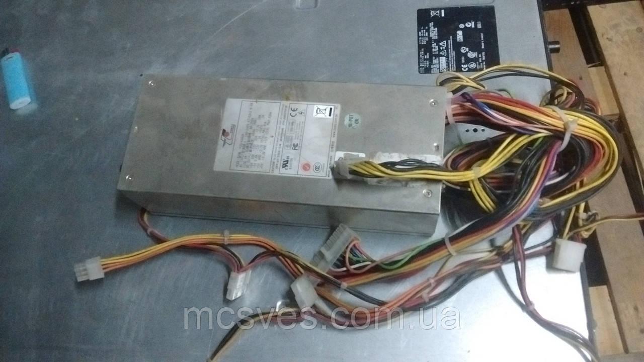 Cерверный 2U блок питания EMACS 460Вт, EPS12V, Активный PFC, Размеры: 240х100х70мм, Входное на (P2G-6460P/EPS)