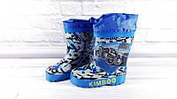 """Детские резиновые сапоги для мальчика """"Kimbo-o"""" Размер: 26, фото 1"""
