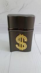 Настольная зажигалка Доллар. Пламя: 3 острых пламени. Высота: 9 см Ширина: 5 см