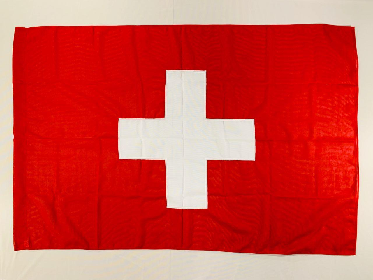Флаг Швейцарии (Аппликация) - (1м*1.5м)