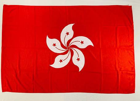 Флаг Гонконга (Аппликация) - (1м*1.5м), фото 2