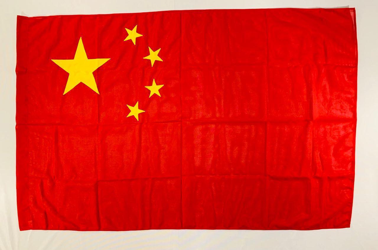 Флаг Китая (Аппликация) - (1м*1.5м)