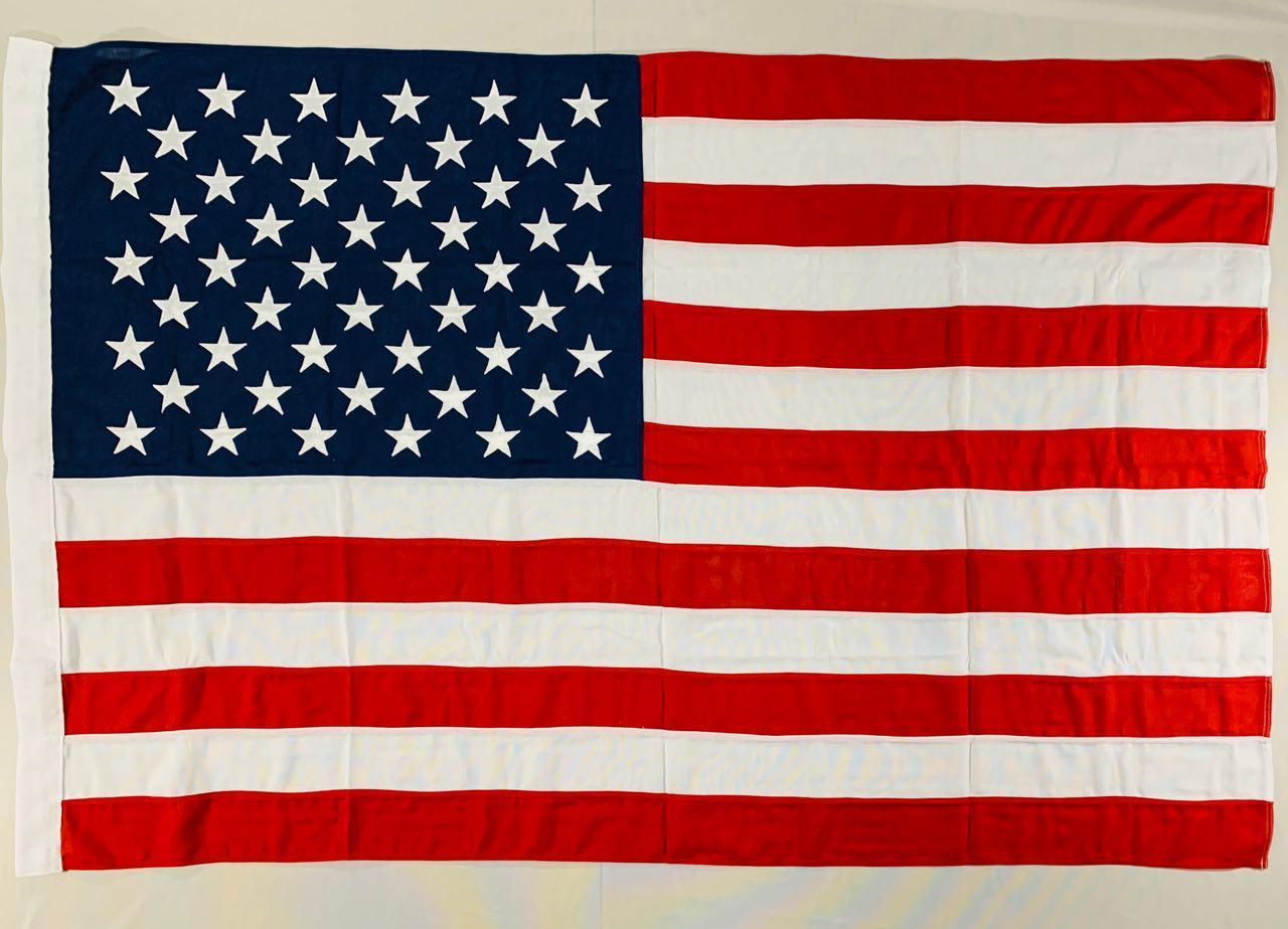 Флаг США (Вышивка) - (1м*1.5м)