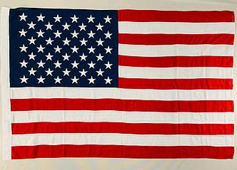 Прапор США (Вишитий) - 1м*1.5м, фото 2
