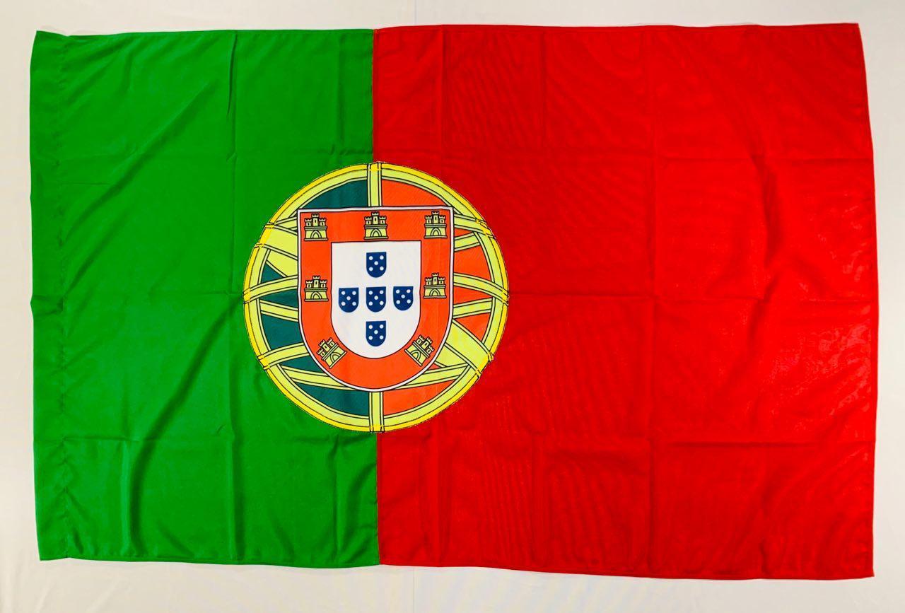 Флаг Португалии - (Печать) - (1м*1.5м)