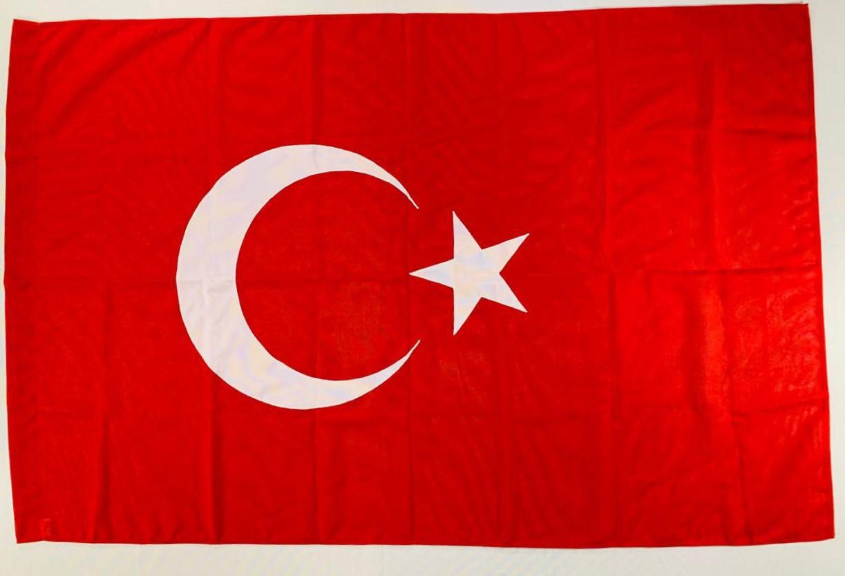 Флаг Турції (Аплікація) - 1м*1.5м