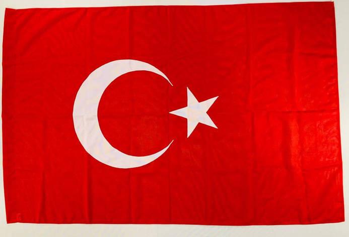 Флаг Турции (Аппликация) - (1м*1.5м), фото 2