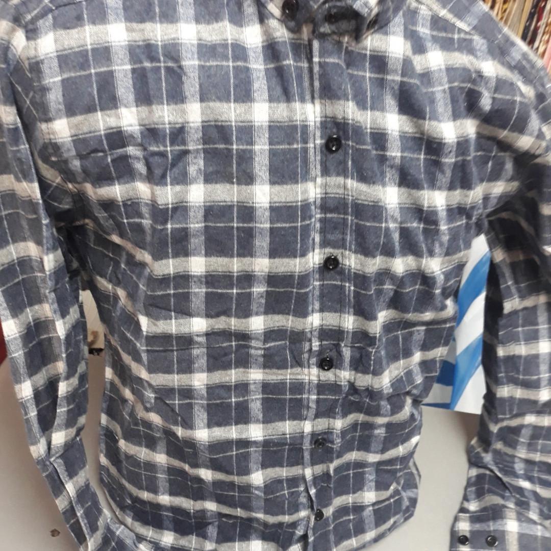 Приталені кашемірова сорочка SAYFA (розмір S,M,L,XL) S