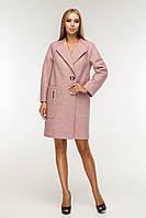 Женское стильное демисезонное пальто много размеров, фото 1