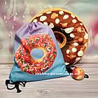 Сумка для пляжа и для сменной обуви Пончик. Сумка-мешок с принтом для прогулок, фото 9