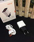 Зарядное устройство VIDVIE PLE216 + кабель TypeC, кабель USB, кабель для зарядки, шнур USB, зарядка, фото 7