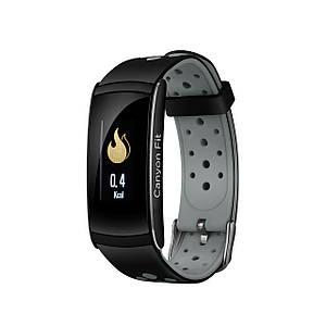 Фитнес-браслет Canyon CNS-SB41 Black/Gray, 0.96 (160х80) LCD сенсорный / Bluetooth 4.0 / 48 х 22 х 12 мм, 25 г