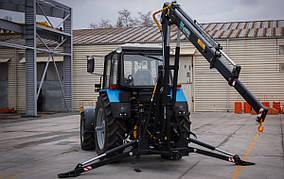 Кран манипулятор к трактору DL Agro