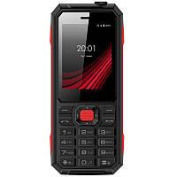 Мобильный телефон Ergo F248 Defender Dual Sim Black, 2.4 (320х240) TN / клавиатурный моноблок / MediaTek MT6261D / ОЗУ 32 МБ / 32 МБ встроенной +