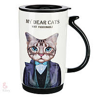 "Чашка ""My dear cats"", 500 мл (арт. 199JH)"