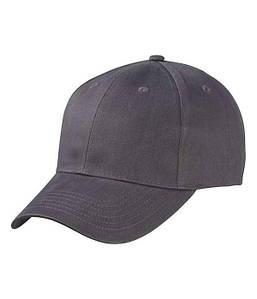 Матовая 6 панельная кепка U, MHGR Карбон