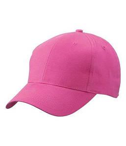 Матовая 6 панельная кепка U, MPNK Малиновый