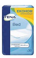 Гигиенические пеленки Tena Bed Normal 60х60, 30 шт.