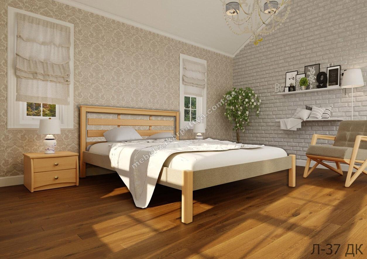 Кровать деревянная Л-37 ДК