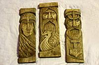 Панно зі скандинавскимибогами: Одін, Фрея іТор, фото 1