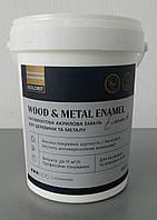Акриловая эмаль для металла и дерева, Kolorit wood and metal enamel 0,9 л