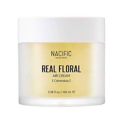 Лёгкий гель-крем с лепестками календулы NACIFIC Real Floral Air Cream Calendula, 100 мл., фото 2