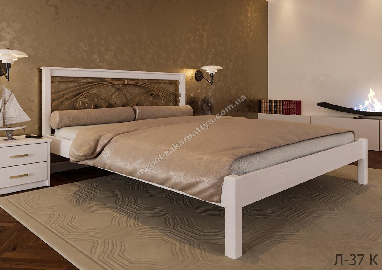 Кровать деревянная Л-37 К