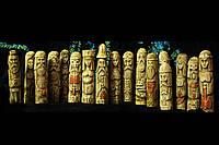 Скандинавськібоги - статуетки з дерева, 18 см, фото 1