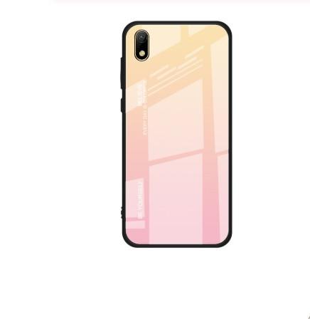 Чехол Gradient для Huawei Y6 2019 Gold-pink