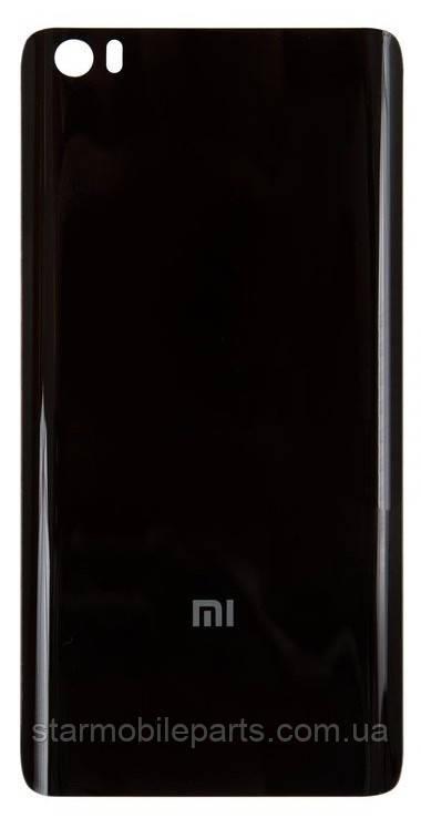 Задня кришка (Задня панель) корпусу для мобільного телефону Xiaomi Mi Note, чорна/black