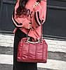 Замечательная женская сумка с металлическими ручками, фото 2