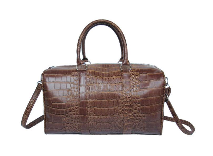 Большая оригинальная сумка под крокодил Mango