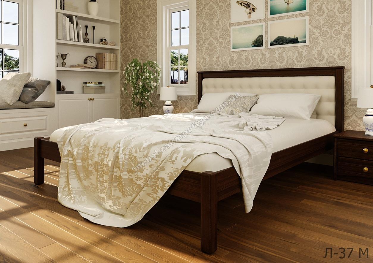 Кровать деревянная Л-37 М