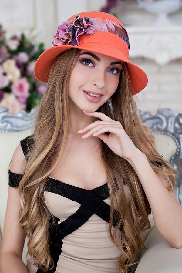 Шляпа «Сюзет» (коралловый)