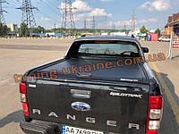 Ролета со спойлером на Ford Ranger 2013+ Ролет Маунтин топ со спойлером вайлд трек на Форд Рейнджер 2013-2016