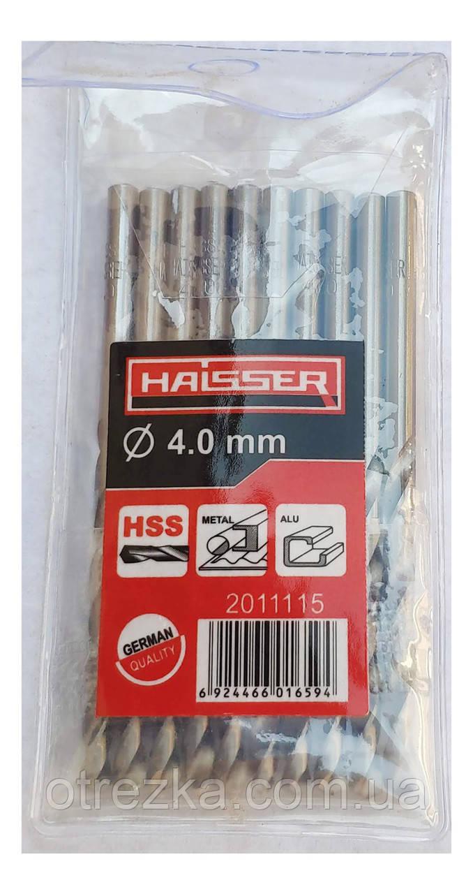 Сверло по металлу HAISSER Ø4,9х52х86 мм. ц/х HSS
