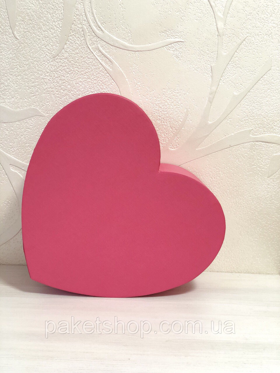 Подарочная картонная коробка ''Сердце'' 300*250*120