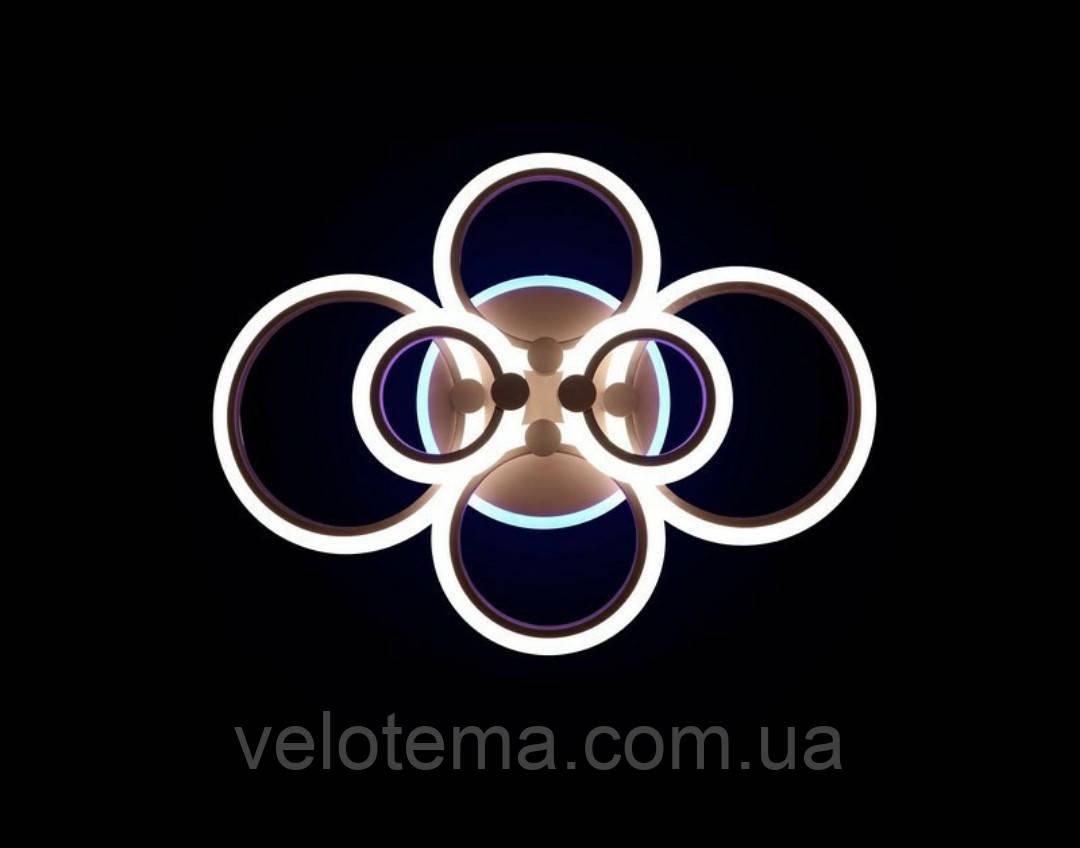 Светодиодная люстра потолочная 1126/6 RGB