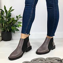 Коричневые женские ботинки, фото 2