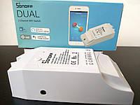 WiFi Sonoff Dual выключатель 15A реле двухканальный IM160811001