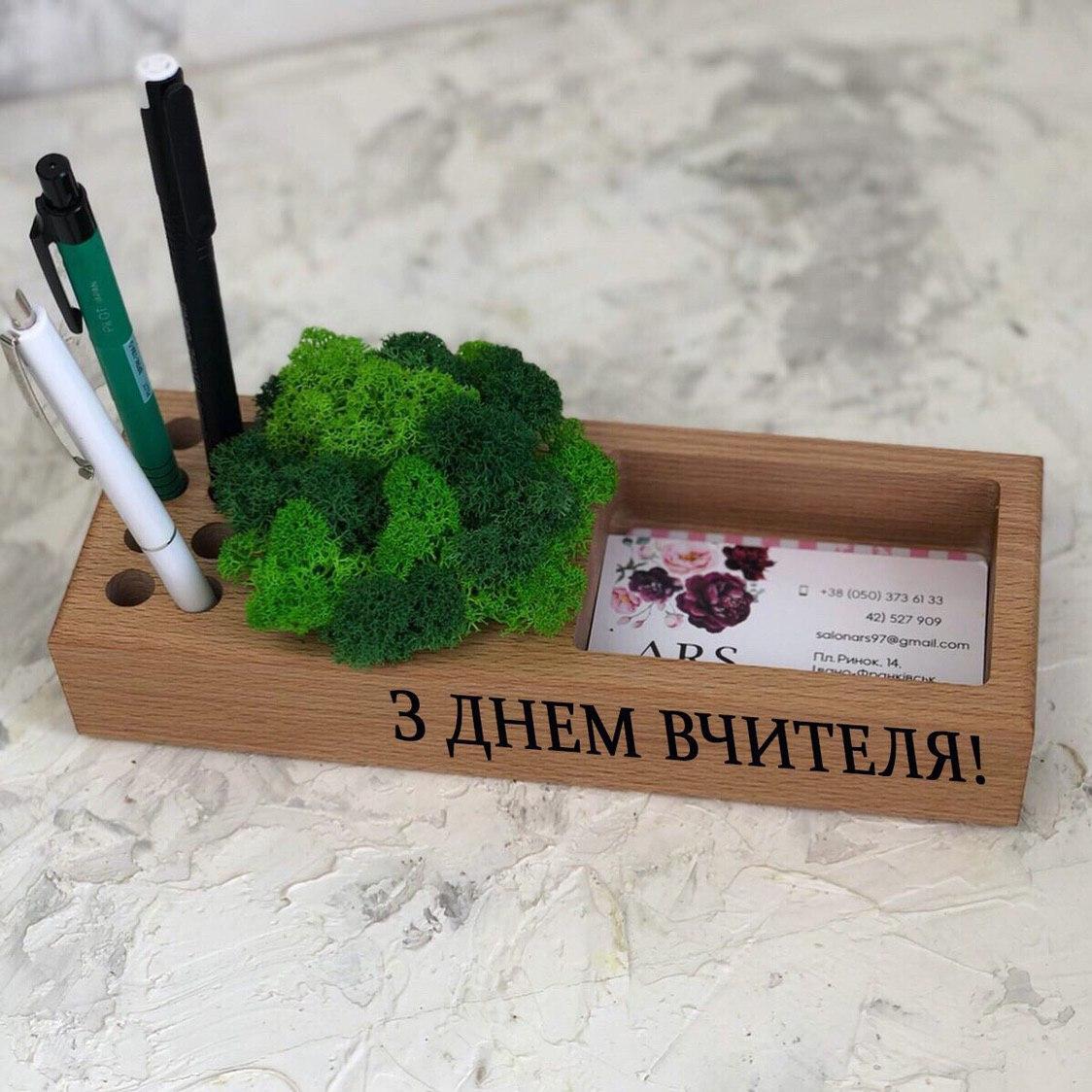 Органайзер с мохом