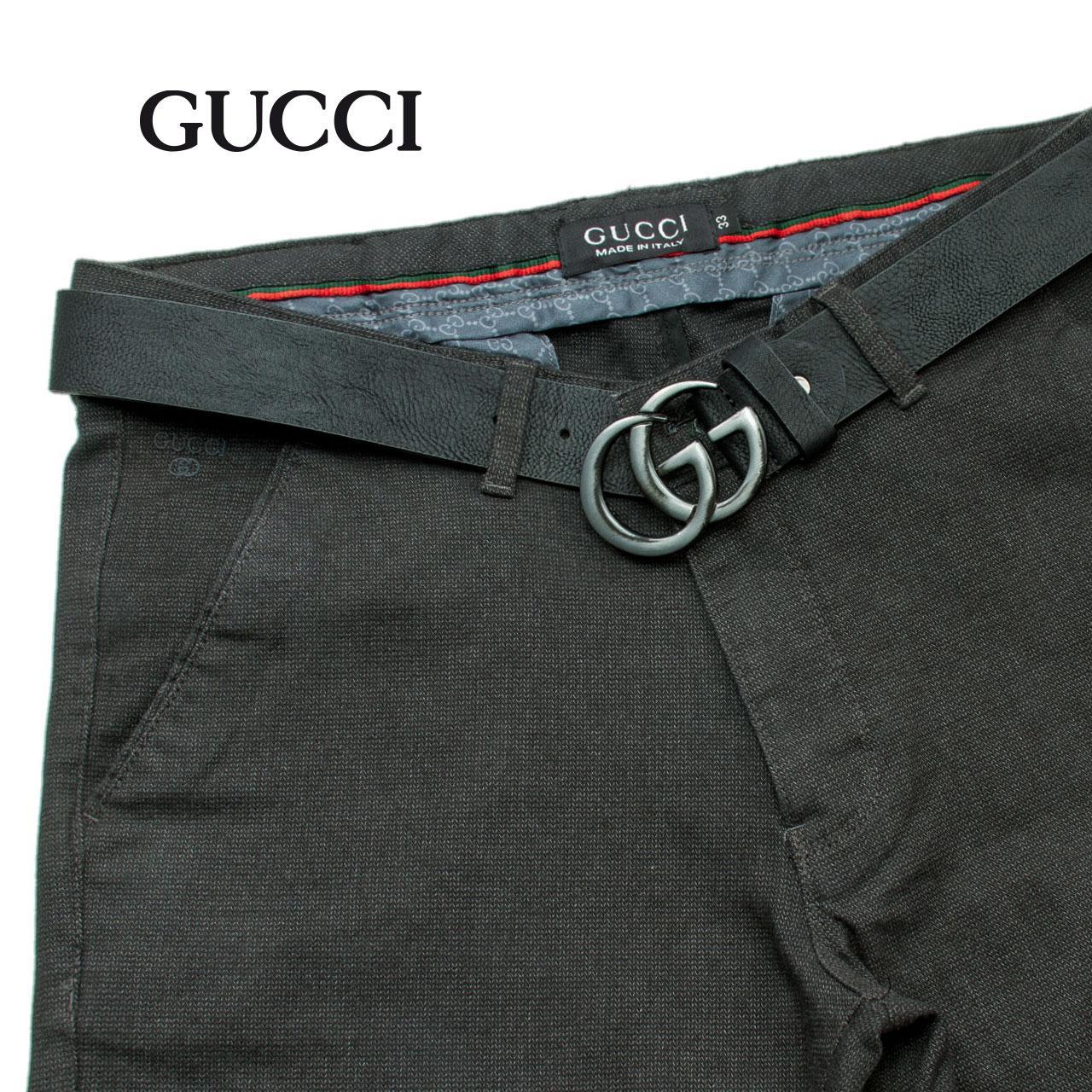Тканевые джинсы GUCCI