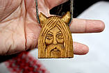Амулет Велес з дерева слов'янських богів, фото 3