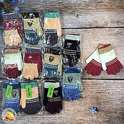 Детские шерстяные перчатки для мальчика и девочки Размер: 3- 5 лет (M) (9125)