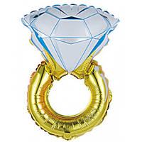 Шар воздушный Кольцо с бриллиантом