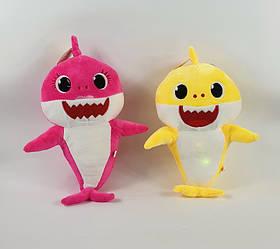 """Игрушка с мультфильма мягкая музыкальная Акула """" Baby Shark"""" 25 см х 15 см"""