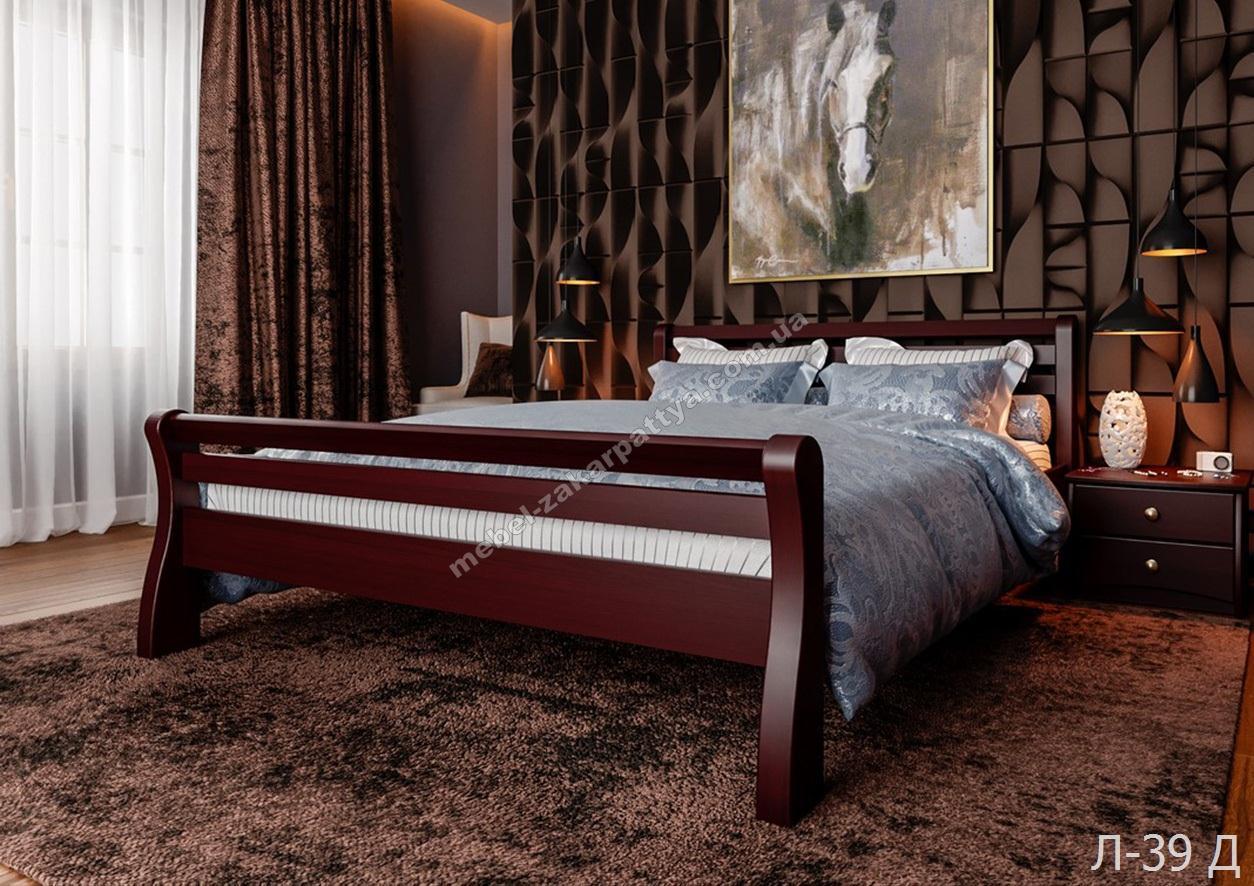 Кровать деревянная  Л-39 Д