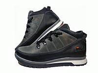 Мужские кожаные зимние ботинки Filla, фото 1