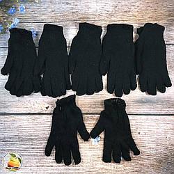 Мужские двойные вязанные перчатки (9132)